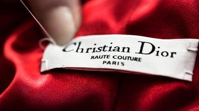 Dior label