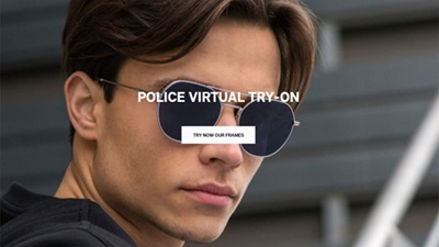 Police virtual try on tool