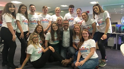 Optical Express Childrens Appeal team