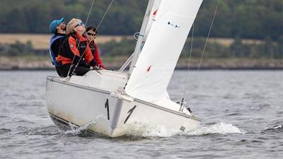 Black and Lizars blind sailors