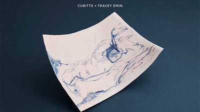 Cubitts launches eyewear cloth designed by Tracey Emin