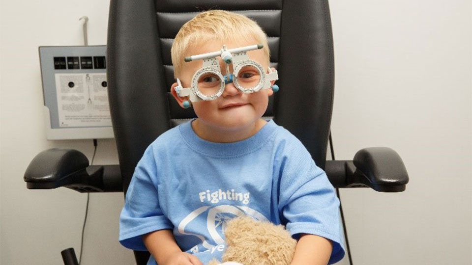 Children's sight test
