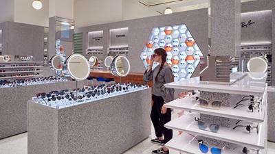 Selfridges eyewear hall