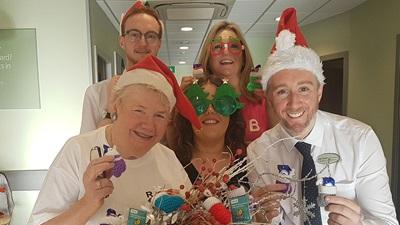 Specsavers Corstorphine celebrates Christmas
