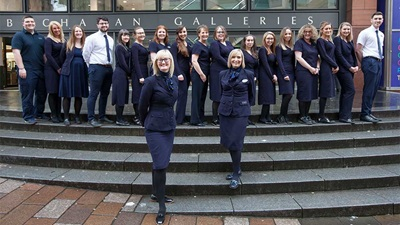 Specsavers Glasgow team