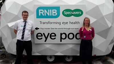Specsavers RNIB Eyepod