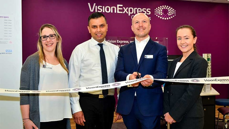 Vision Express opens the doors of its first rebranded Tesco Opticians store
