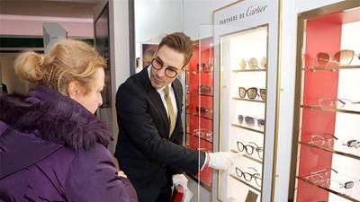 Vision Express Cartier eyewear