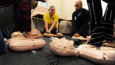 Vision Express CPR training