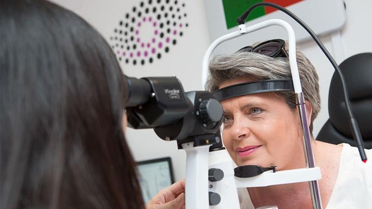 Vision Express Truckfest Eye test