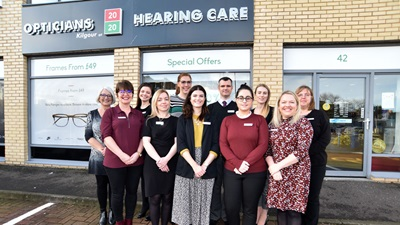 2020 Opticians Ayr team