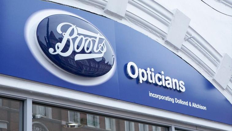 Boots Opticians exterior