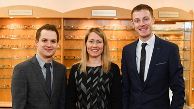 Indie Urquhart Opticians staff