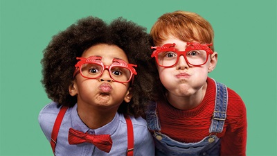 Specsavers comic relief advert