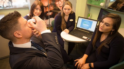 Specsavers staff have completed an online glaucoma training course