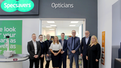 Specsavers store and team