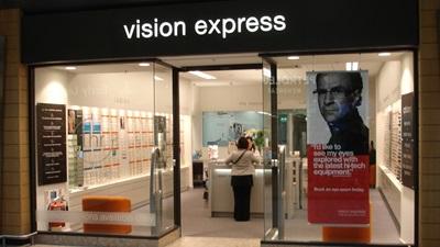 Vision Expess exterior
