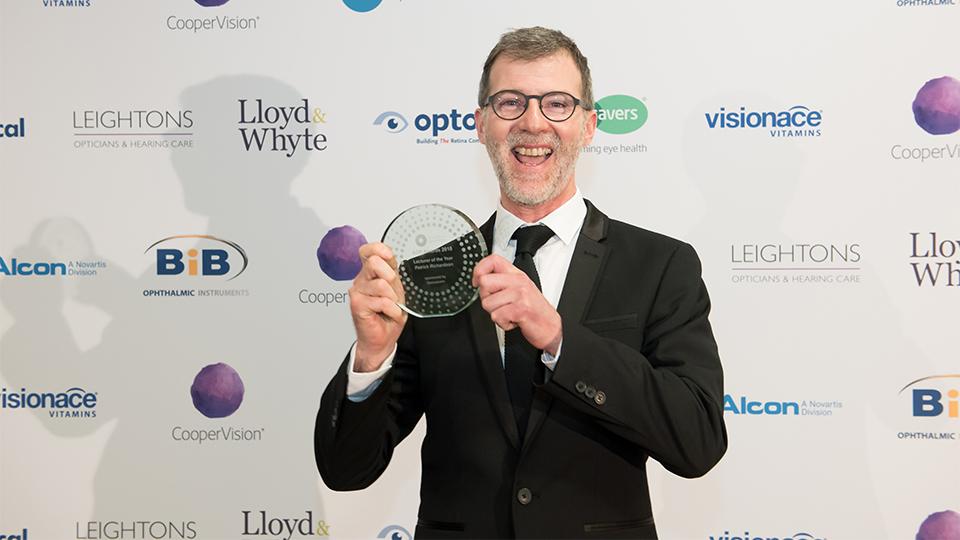 AOP Awards winner lecturer