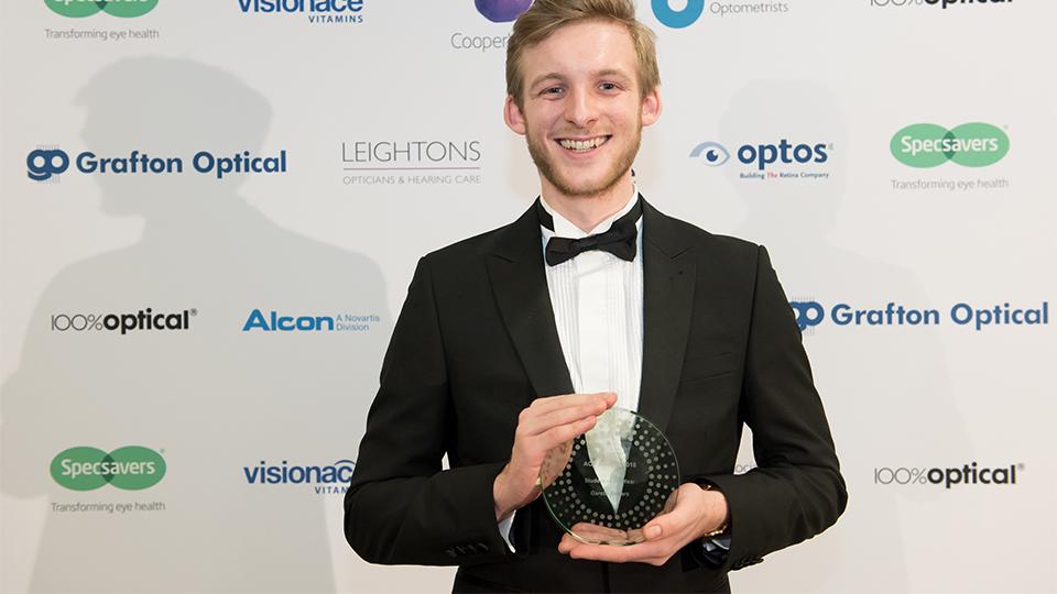 AOP Awards winner student
