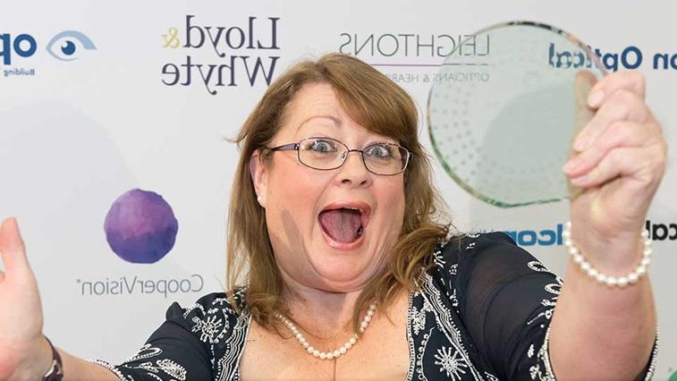 AOP Award winner reaction