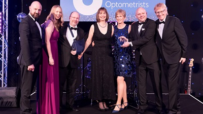 Keyes Eyecare at the AOP Awards 2018