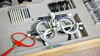 Sight test equipment