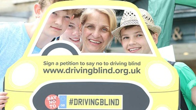 Driving Blind campaign