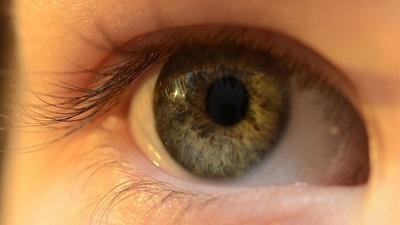 Eye image photo