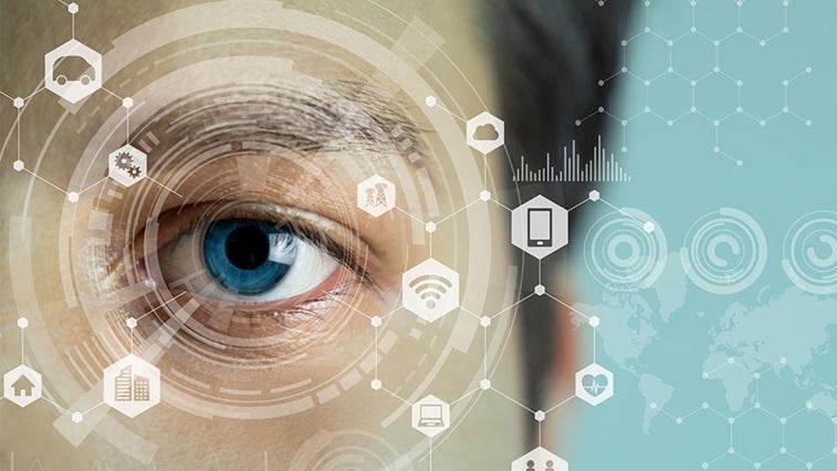 Eye and digital graphics