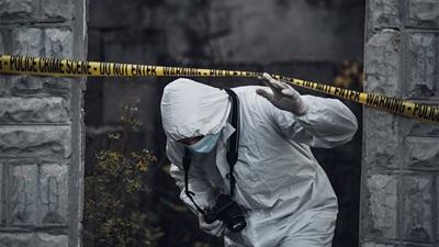 Contaminated scene