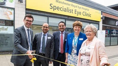 Manchester community eye care services