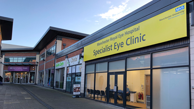 Manchester Royal Eye Hospital specialist clinic