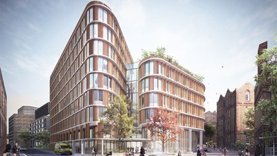 Moorfields Hospital architectural design