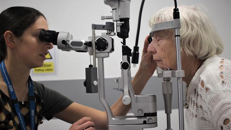 profile image of eye test
