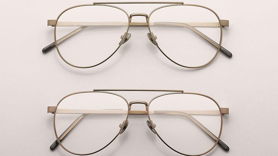 Nirvan Javan eyewear