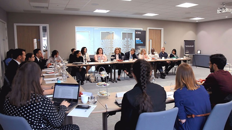 MP meeting at the University of Birmingham