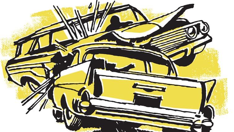 Yellow car animation