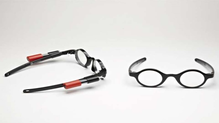 Adjustable spectacles