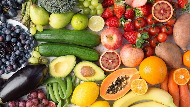 Fruit and vegtables