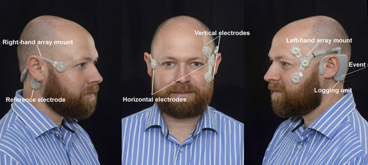 headset on model
