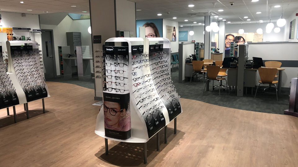 Specsavers interior