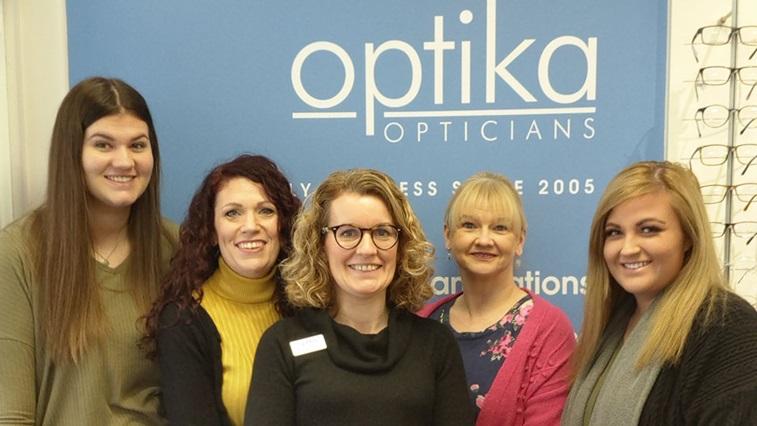 Optika Opticians team