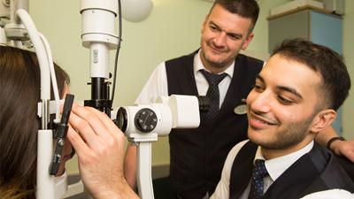 pre-reg optometrist