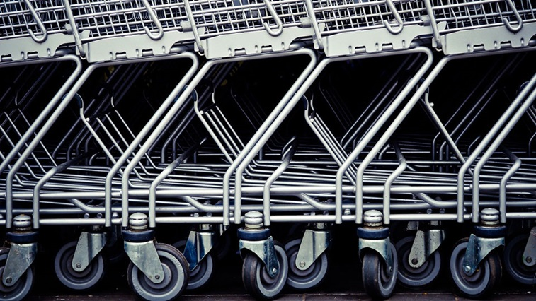 Supermarket trollies