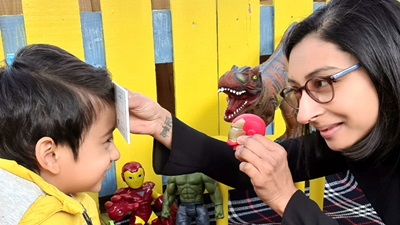 child and optometrist