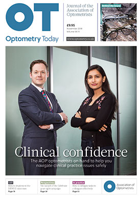 OT November front cover