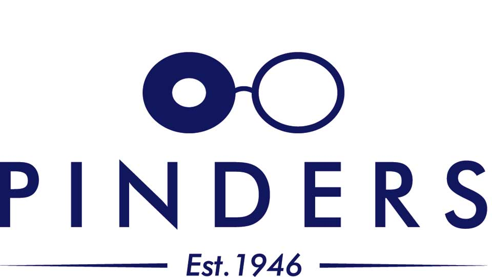 Pinders opticians logo