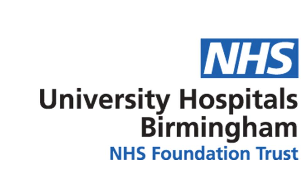 University Hospitals Birmingham NHS logo