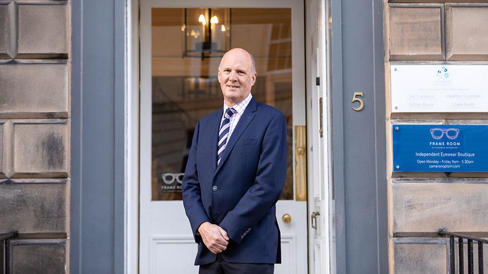 Donald Cameron OBE