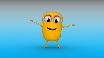 The Macular Society's new cartoon character 'Mac'